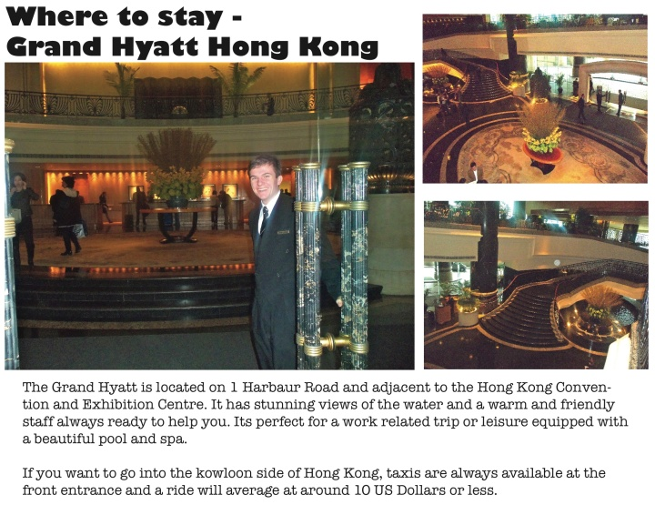 Hong Kong : Where to Stay