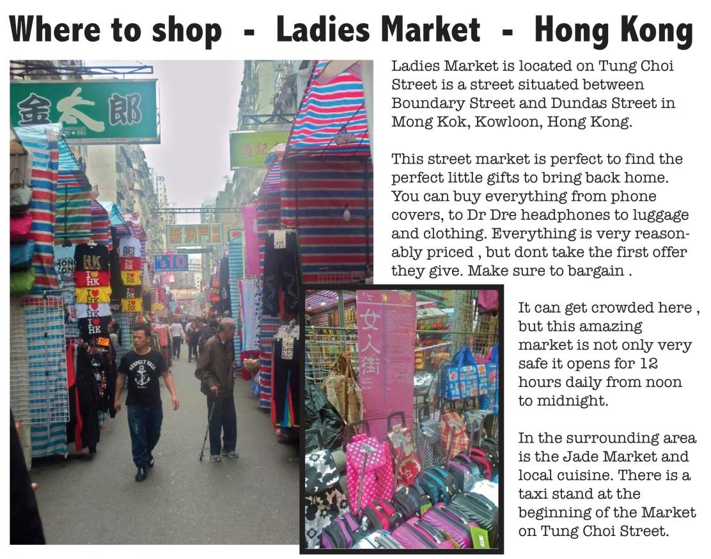 Where to shop- Hong Kong