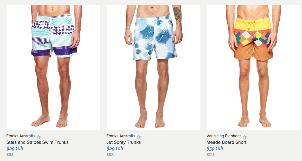 Great Affordable Beachwear on Gilt