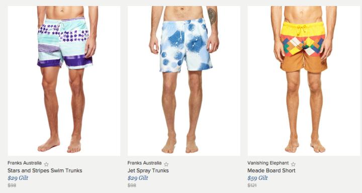 Great Affordable Beachwear on Gilt
