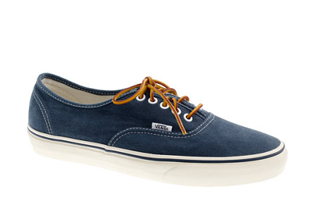 J.Crew and Vans team up