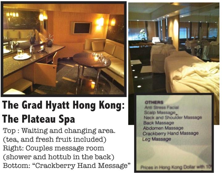 Grand Hyatt Spa