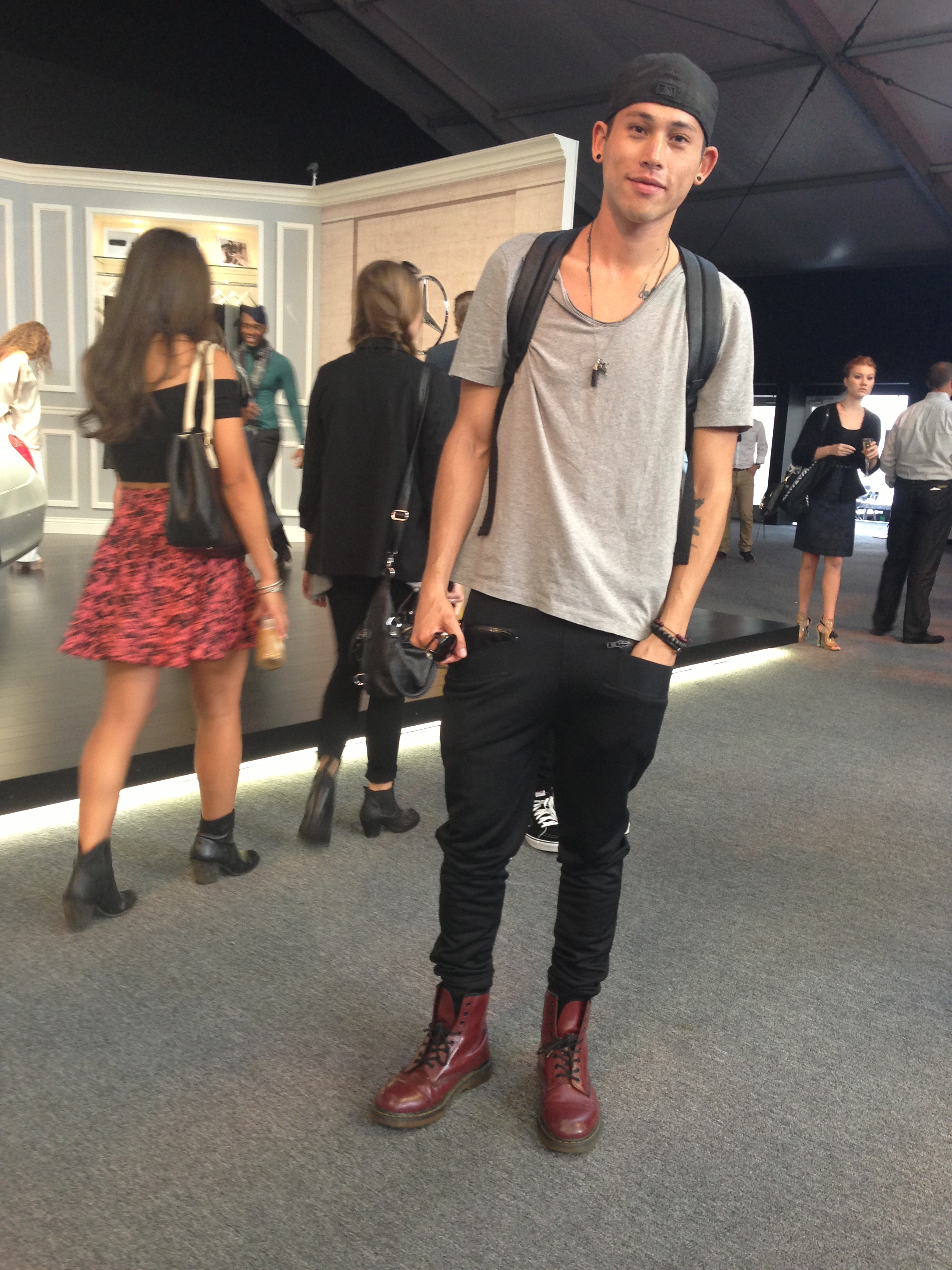 Dr. Martens at NYC Fashion Week