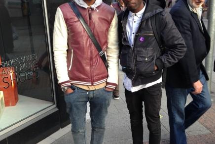 Street Fashion; Retro Sneakers inDublin