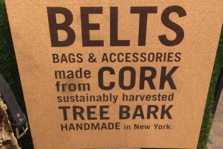 Cliff Belts; sustainable fashion