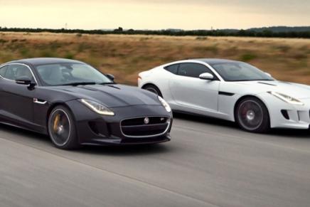 Jaguar Releases The F-TypeCoupe