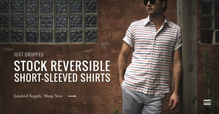 Stock Mfg Co; One Shirt, Two Outfits