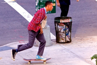 Fit Style; skaters will usually look fly in any outfit